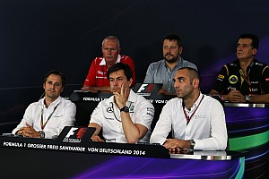 Formula 1 Press conference 2014 German Grand Prix Friday Press Conference