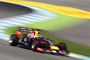 Formula 1 Practice report Hockenheim: Red Bull have a good practice day without the FRIC suspension