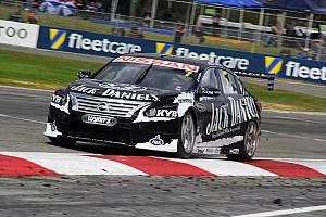Supercars Practice report Friday test and tune for Jack Daniel's Racing at Queensland