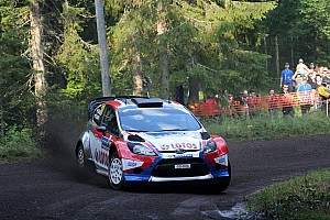 WRC Stage report Kubica safely through day three
