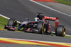 Formula 1 Qualifying report Toro Rosso fail to reach Q3 at Spa