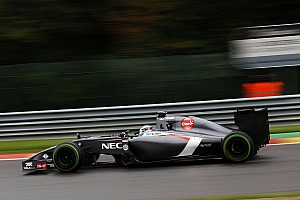 Formula 1 Qualifying report Sauber's Sutil clinch 14th  position on qualifying for tomorrow's Belgian GP