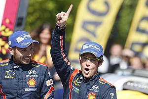 WRC Race report Neuville claims maiden victory as Latvala and Meeke crash