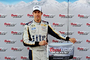 NASCAR Cup Qualifying report  Keselowski zips to Cup pole at Richmond
