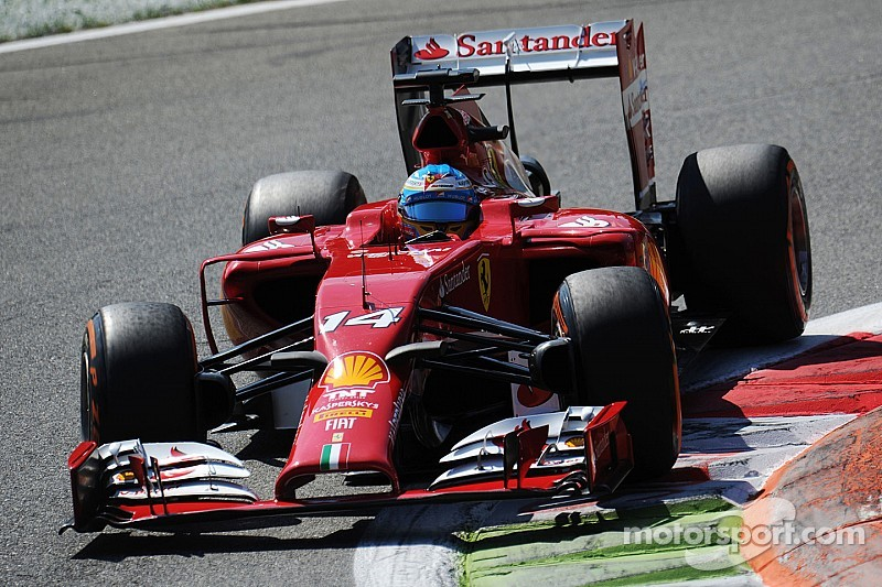 Ferrari on qualifying at Monza: Fourth and sixth rows for Fernando and Kimi