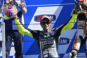 MotoGP Breaking news Rossi thrills home fans with stunning victory at Misano