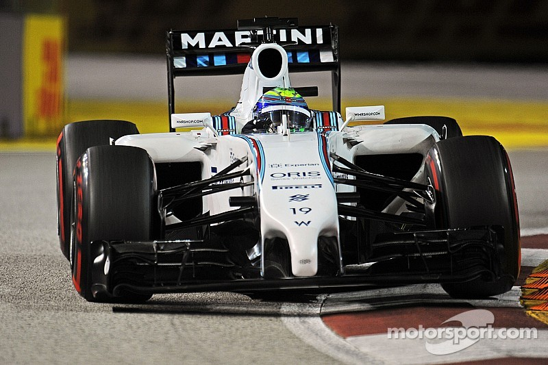 Massa finished fifth and Bottas eleventh in an eventful Singapore GP