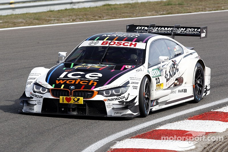 Wittmann and Tomczyk on the podium for BMW