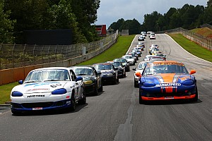 Road racing Qualifying report Koch takes double pole in Mazda MX-5 Cup at Road Atlanta