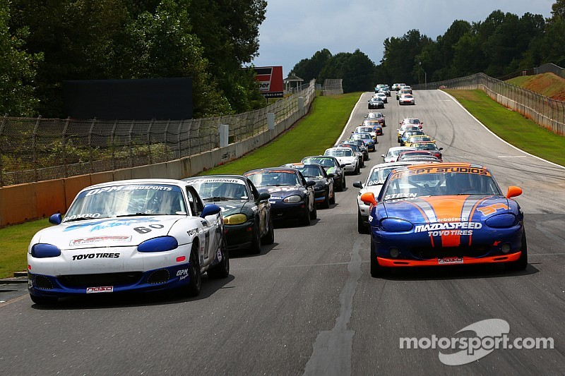 Koch takes double pole in Mazda MX-5 Cup at Road Atlanta