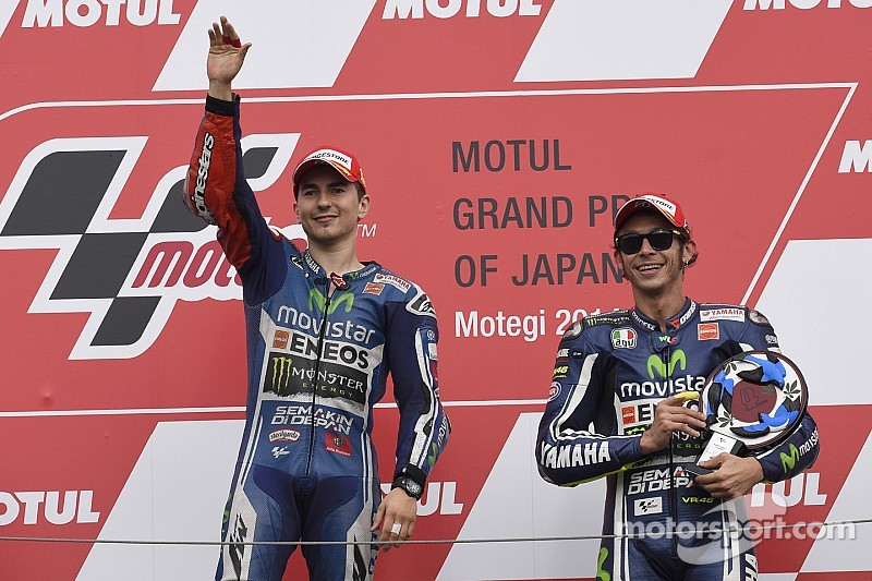 Lorenzo Reigns at Motegi