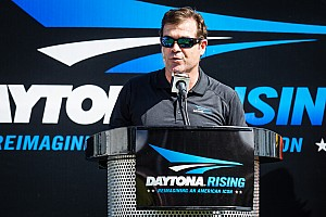 NASCAR Breaking news Crossed flags: Daytona Rising project reaches halfway
