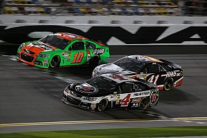 NASCAR Cup Commentary Harvick discusses struggle to transition from open-wheel to stock cars for Danica