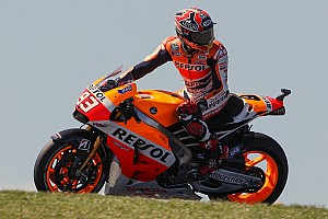 MotoGP Qualifying report Bridgestone: Marquez makes his mark at Phillip Island for his twelfth pole position of the year