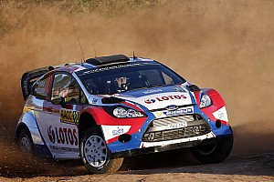 WRC Leg report Opportunity missed for Kubica