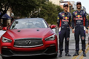 Formula 1 Preview Infiniti previews F1 to Austin locals