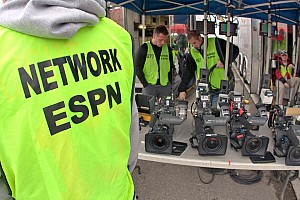 NASCAR Cup Interview NASCAR TV coverage: ESPN signs off