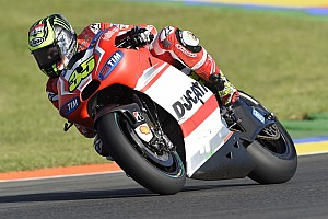 MotoGP Qualifying report Crutchlow and Dovizioso qualify for the Valencian GP in eighth and ninth for a row 3 grid start