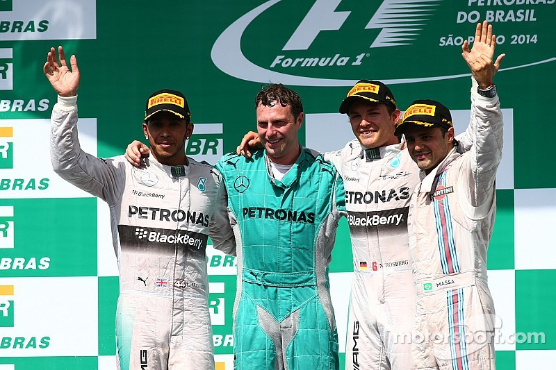 Brazilian GP race results: Rosberg takes the fight to Hamilton