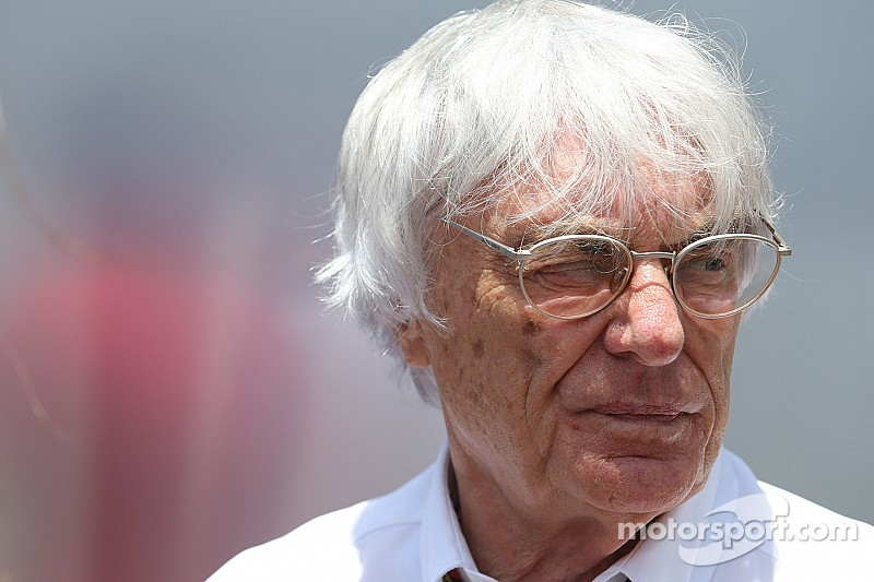 No point attracting young generation to F1 - Ecclestone