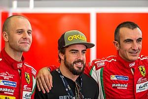 WEC Rumor Alonso making the rounds around WEC paddock in Bahrain
