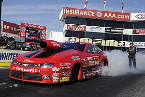NHRA Race report NHRA ends 2014 with a couple of nail-biting final rounds