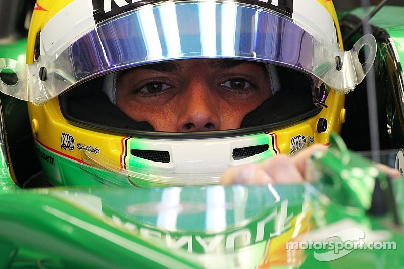 Merhi in Abu Dhabi with Caterham race hopes