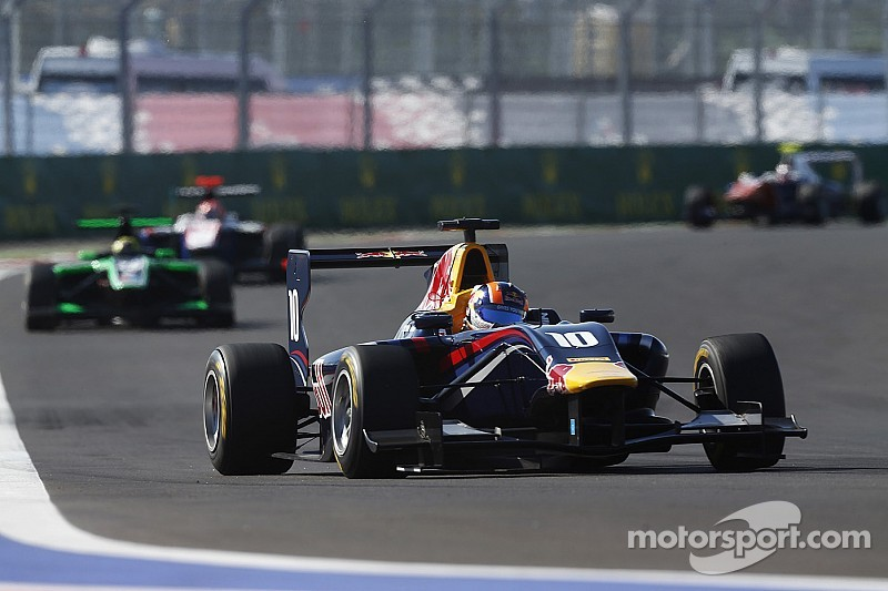 Yas Marina Circuit hosts the mouth-watering GP3 finale