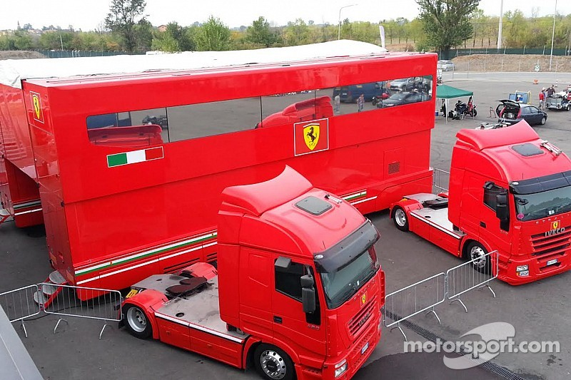 Ferrari F1 team motorhome used from 2003 to 2013 for sale