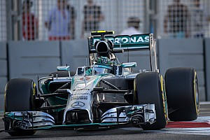 Formula 1 Qualifying report Pirelli: Rosberg claims pole for championship decider on P Zero Red Supersoft tyres