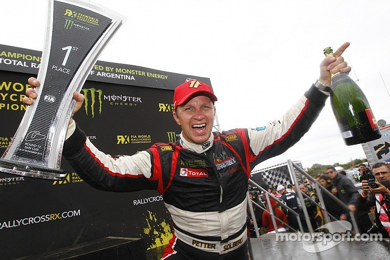 Solberg ends title-winning season with victory in Argentina