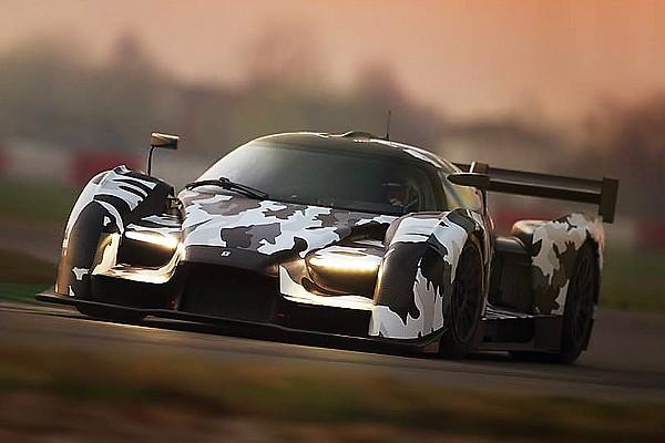 GT Glickenhaus SCG 003 hits the track