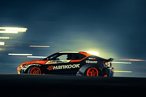 Formula Drift Commentary Top drifter Frederic Aasbo tears through LA - video