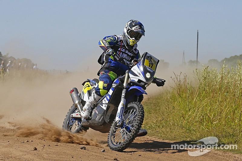 Yamaha riders look back on the first week of Dakar 2015