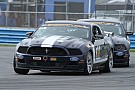 Ford Mustangs roar in Daytona SCC practice