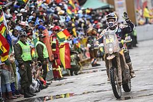 Dakar Stage report Quintanilla wins, Coma takes control