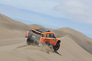 Dakar Breaking news Robby Gordon presses on as Dakar Rally nears the finish