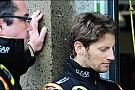 He visto el coche y se ve muy bien: Grosjean