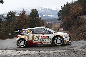 WRC Race report The DS 3 WRCs rack up most stage wins at Rallye Monte-Carlo