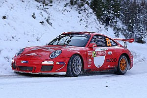 WRC Race report Romain Dumas second in RGT for his first Monte Carlo appearance