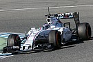 Williams very satisfied with the first day at Jerez