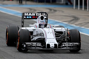 Formula 1 Testing report Williams' Bottas is pleased with what he has felt when in the car