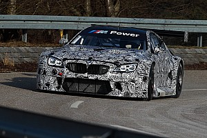 GT Breaking news New BMW M6 GT3 completes rollout