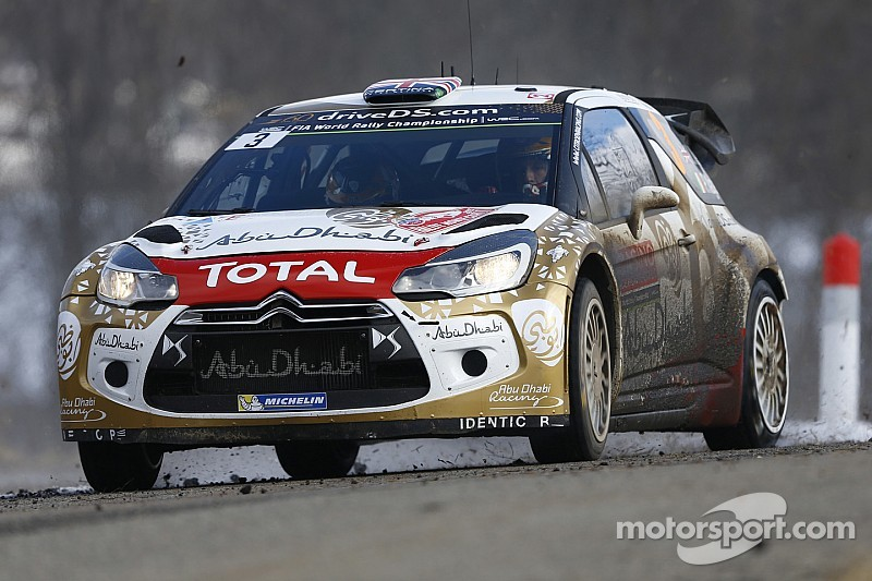 Rally Sweden: Snow and ice for the DS 3 WRCs