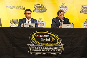NASCAR Breaking news NASCAR promotes Mike Helton and Brent Dewar