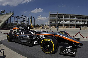 Formula 1 Breaking news Force India on road to Barcelona test
