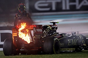 Formula 1 Breaking news Lotus 'paid the price and learned', says Lopez