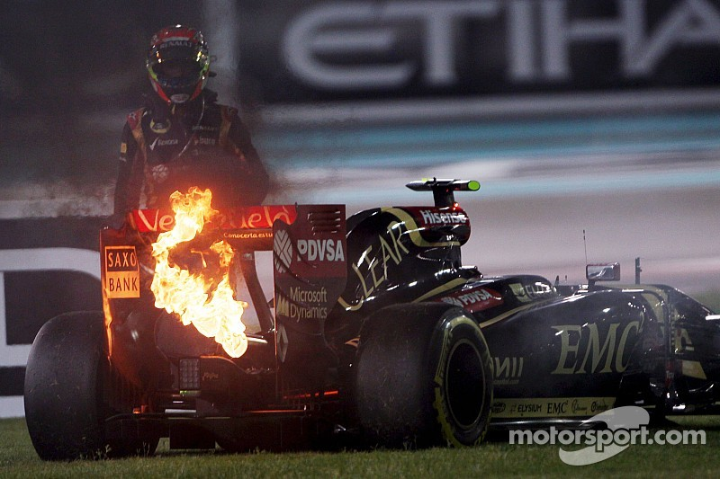 Lotus 'paid the price and learned', says Lopez