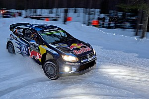 WRC Leg report Ogier wins Rally Sweden as Mikkelsen spins on powerstage