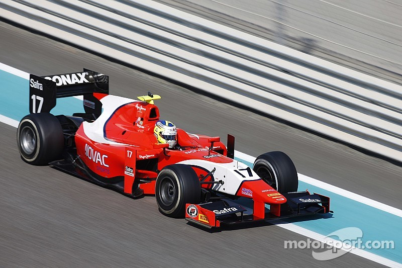 Negrao stays on with Arden for 2015 GP2 season